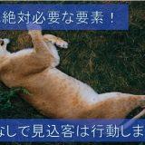 ライオンが寝転がっている