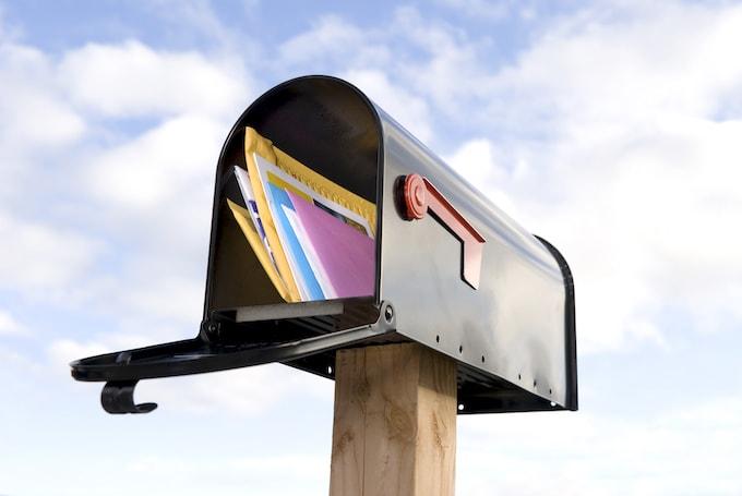 DMで溢れかえるメールボックス