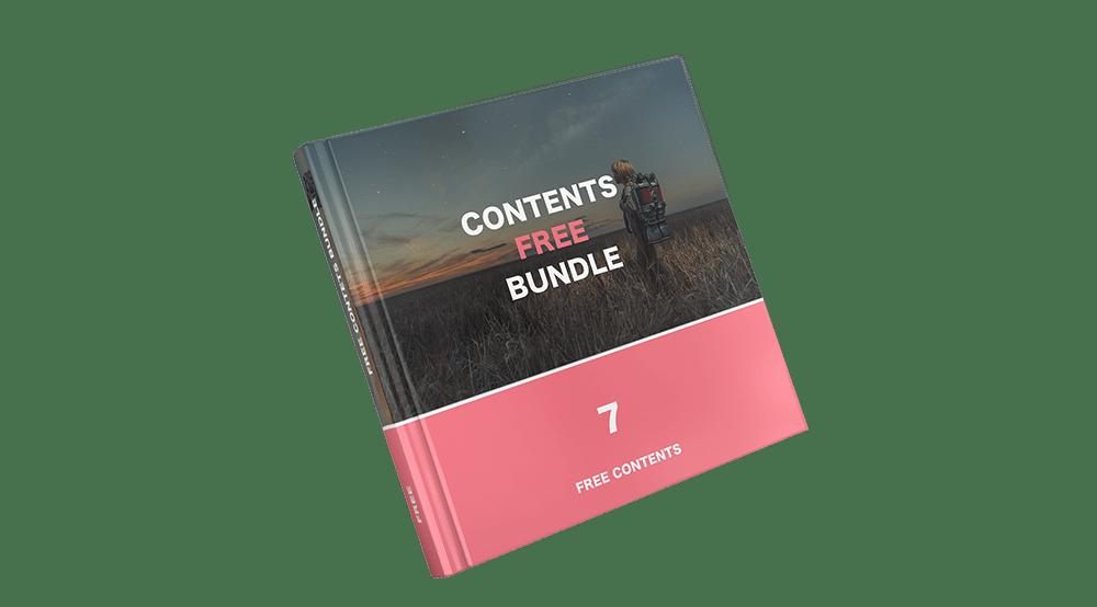 7つの無料コンテンツのイメージ画像