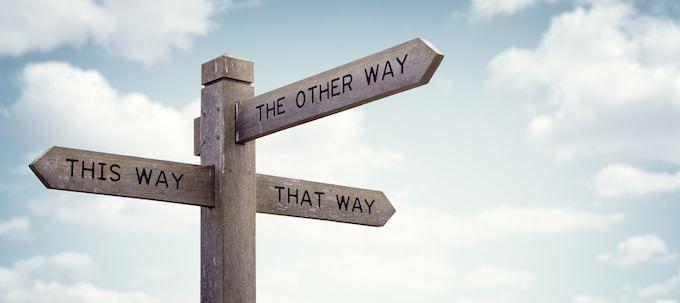 進めべき道の選択