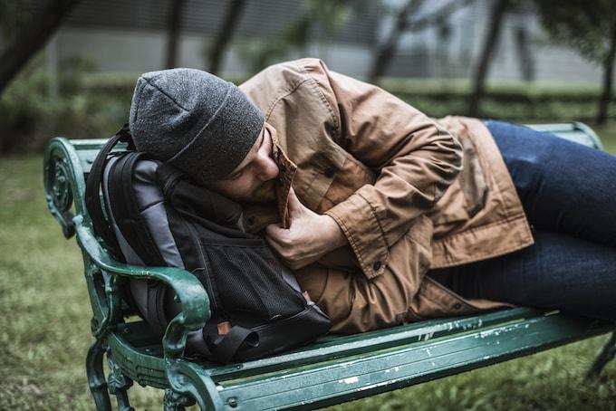 ホームレスの男性